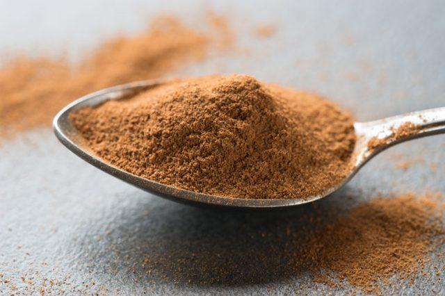 spoonful of cinnamon