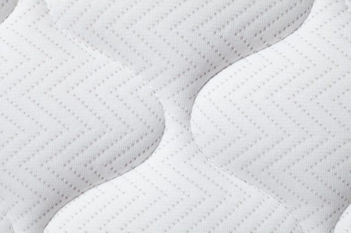 Background of comfortable mattress, Close-up.