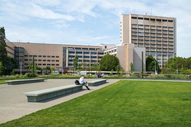 Seattle, WA, USA June 08, 2016: University of Washington Medical Center hospital
