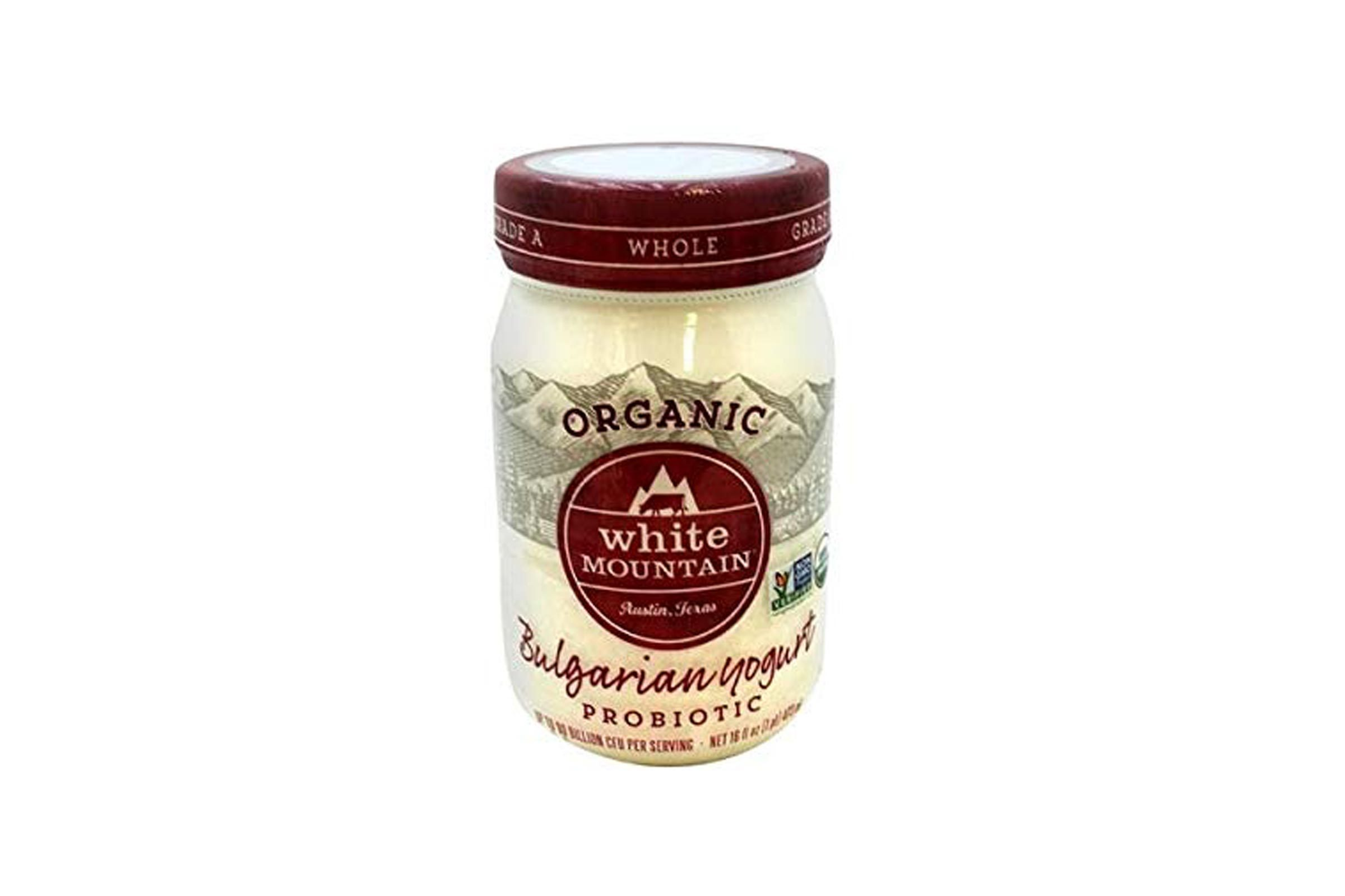 Expect More White Mountain Bulgarian Organic Yogurt 16 oz pack of 6