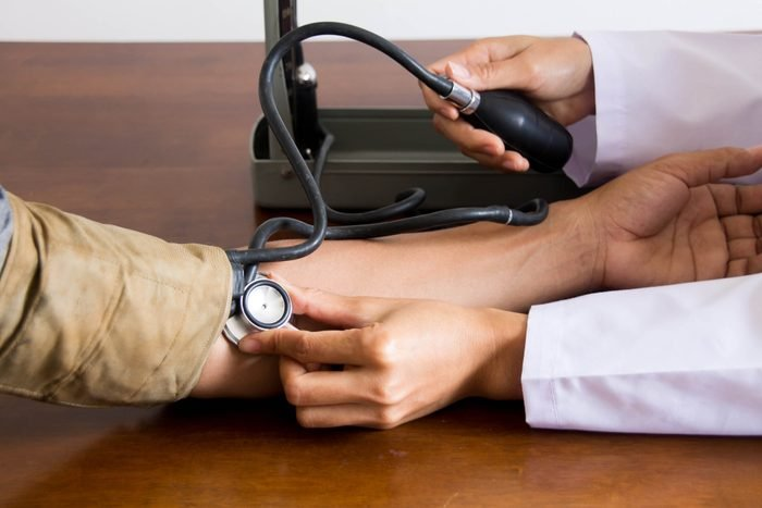 Medical Specialist in Blood Pressure Blood Pressure Monitor for Male Patients - Health Concepts