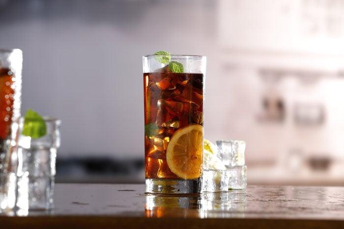 cold ice tea