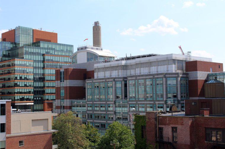 Boston Hospital Area