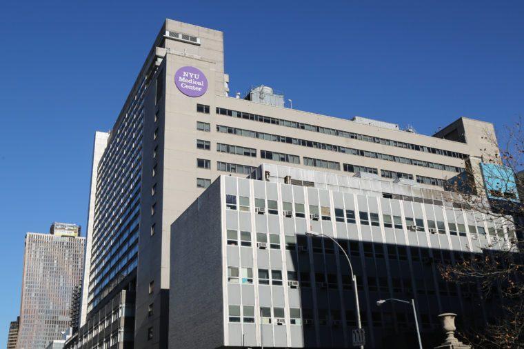 NYU Langone Medical Center in Manhattan