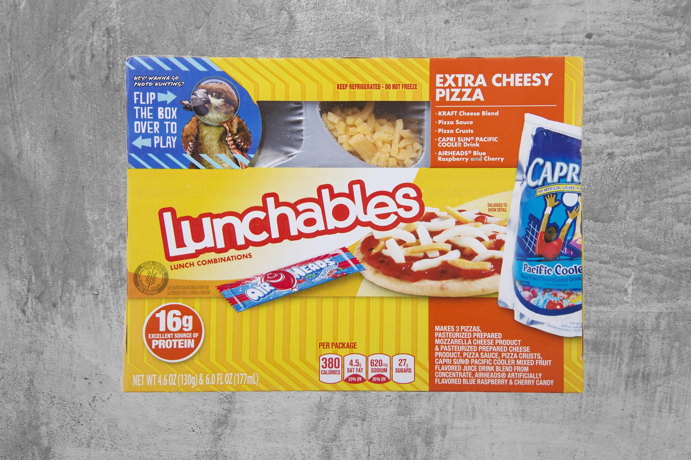 lunchables packaged kids' meal kit