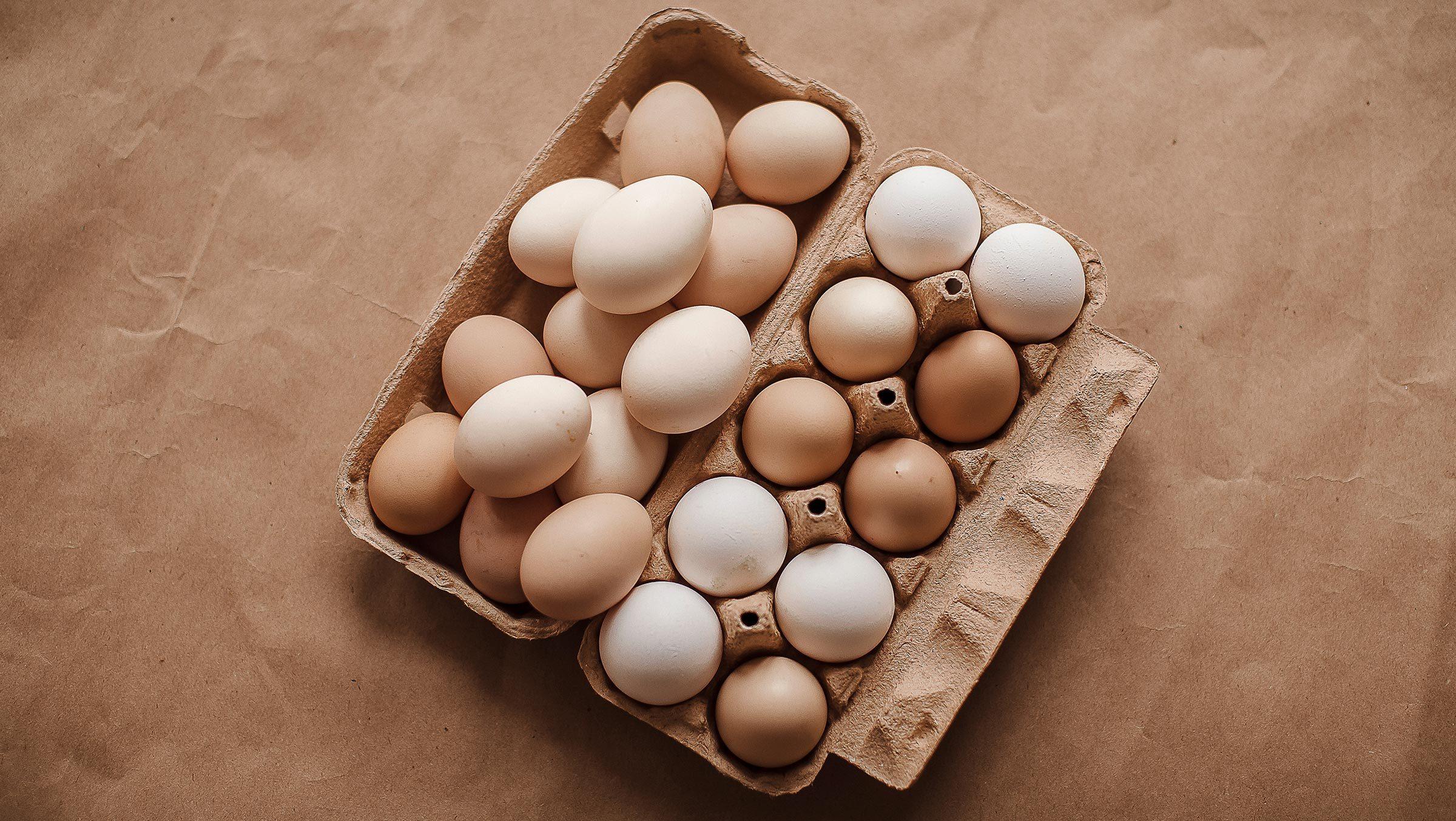 Eggs. Background eggs.