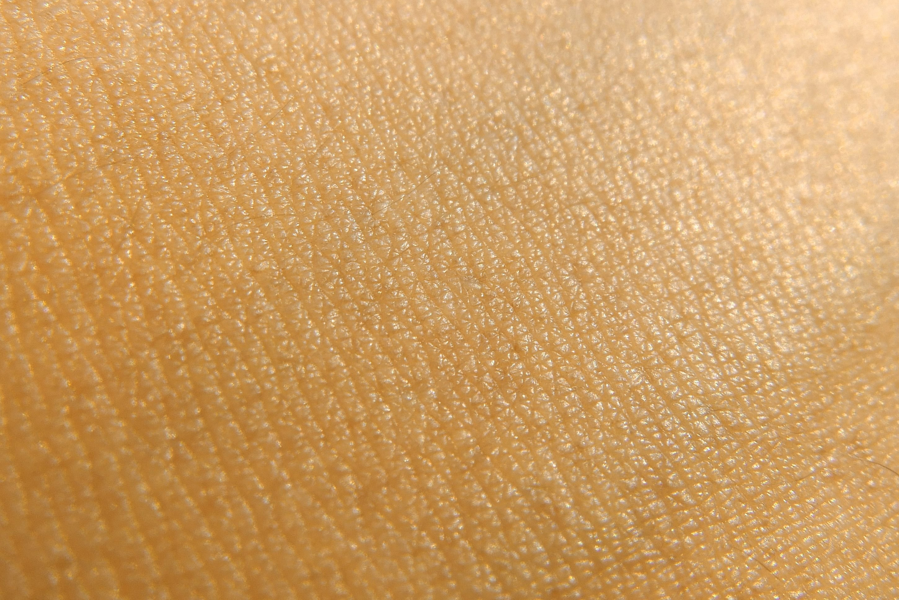 close up of skin