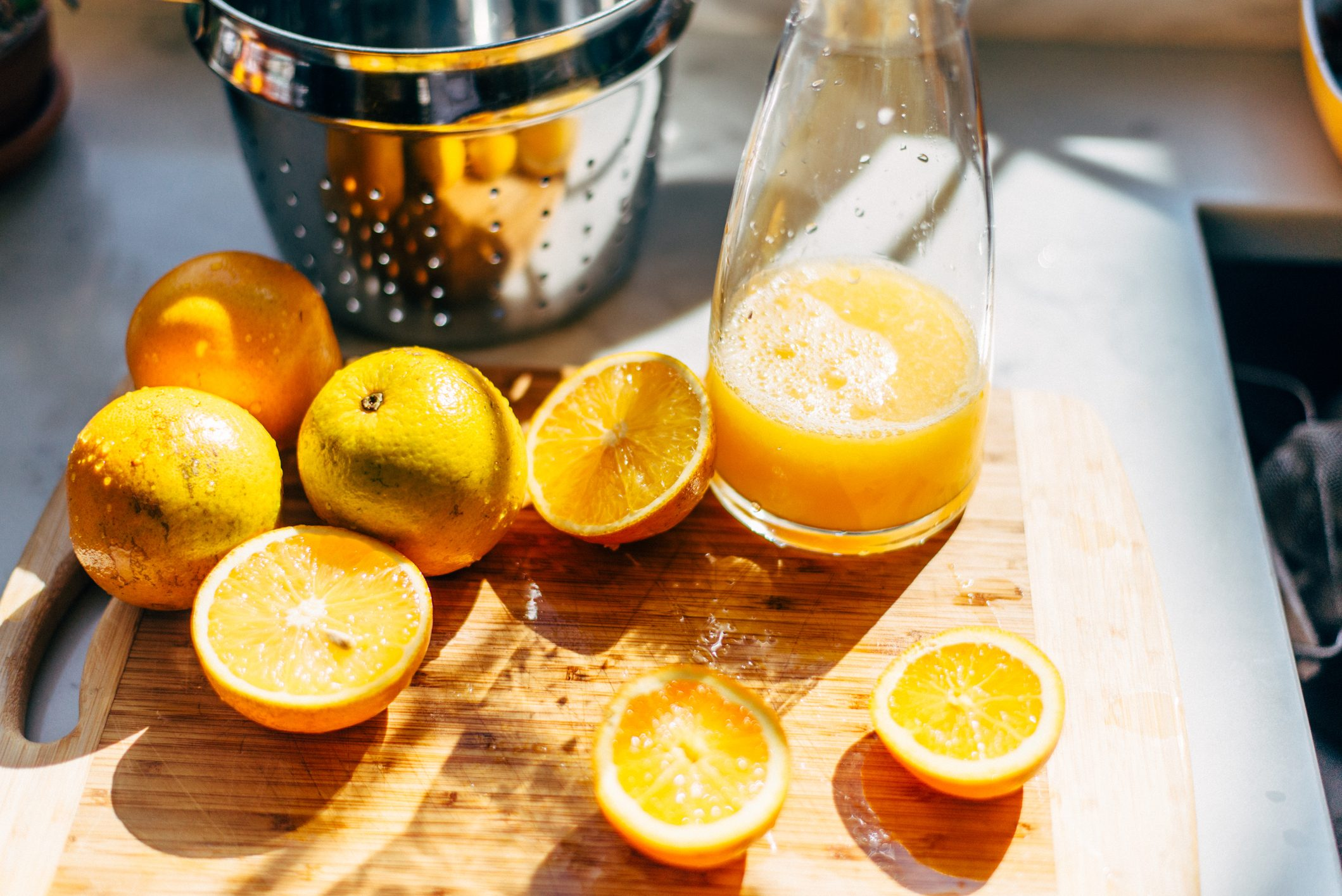 oranges for fresh squeezed orange juice