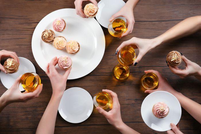 cup cakes dessert wine