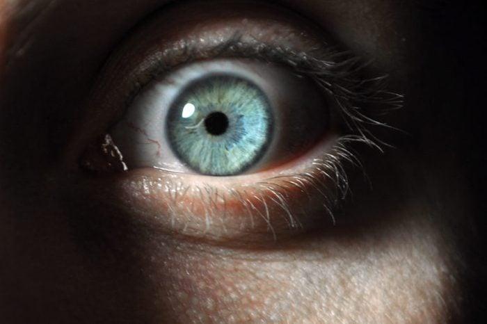 surprise fear eye scared