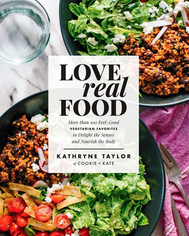 love real food cookbook vegetarian