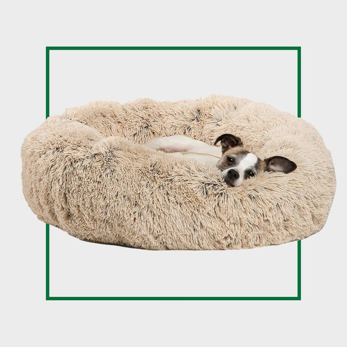 Best Friends by Sheri Calming Donut Cat and Dog Bed