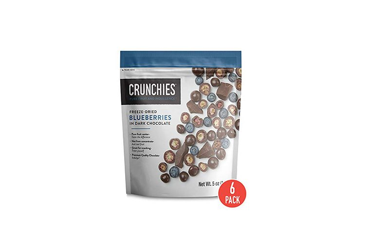 Crunchies Freeze-Dried Fruit in Dark Chocolate
