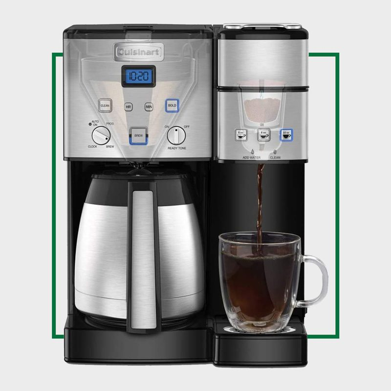 Cuisinart SS-20 Coffee Center 10-Cup Thermal Coffee Maker and Single-Serve Brewer