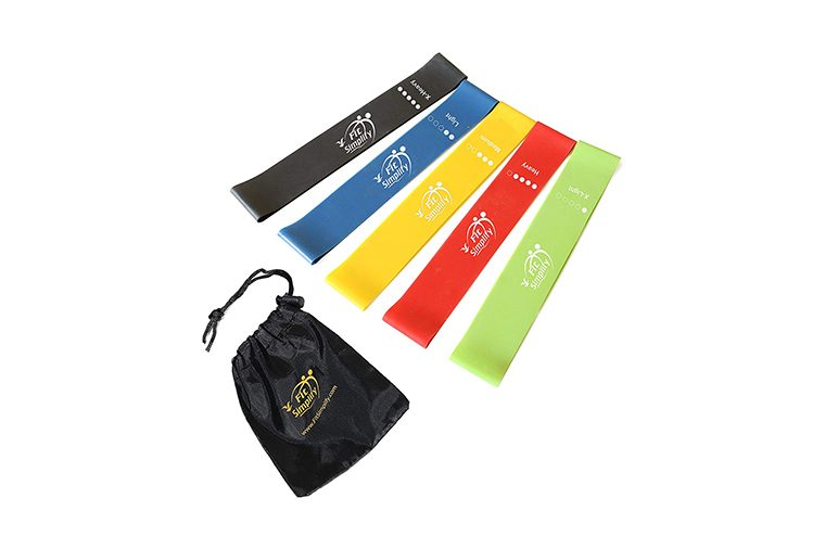 Fit Simplify Resistance Loop Exercise Bands with Instruction Guide