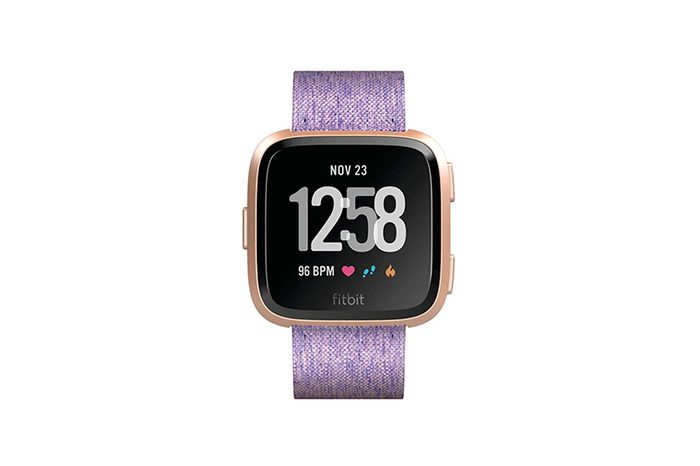 Fitbit Versa Special Edition Smart Watch- Lavender Woven