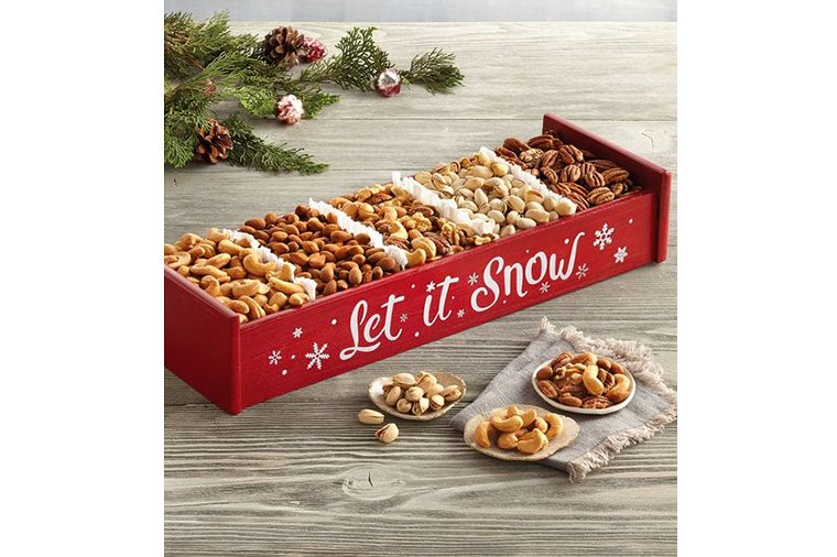 Holiday Mixed Nut Crate