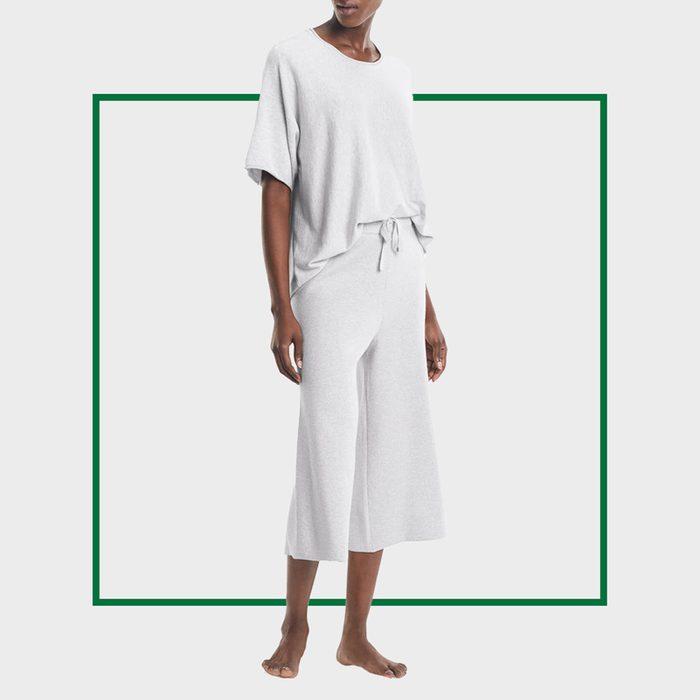 M.M. LaFleur The Cotton Cashmere Pajama Set