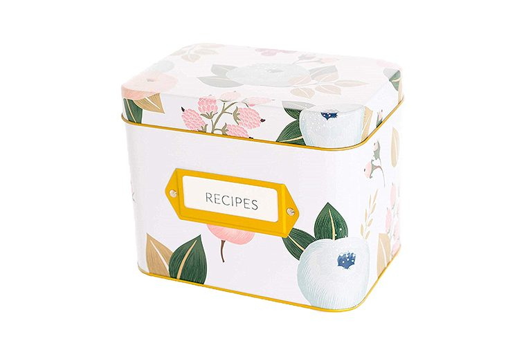 polite society Recipe Box With 24 Cards