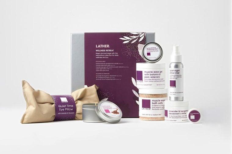 Wellness Retreat gift set