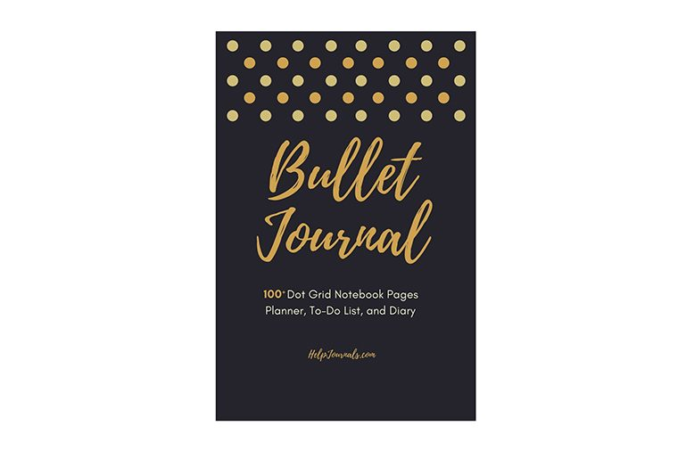 bullet Journal - 100+ Dot Grid Notebook Pages