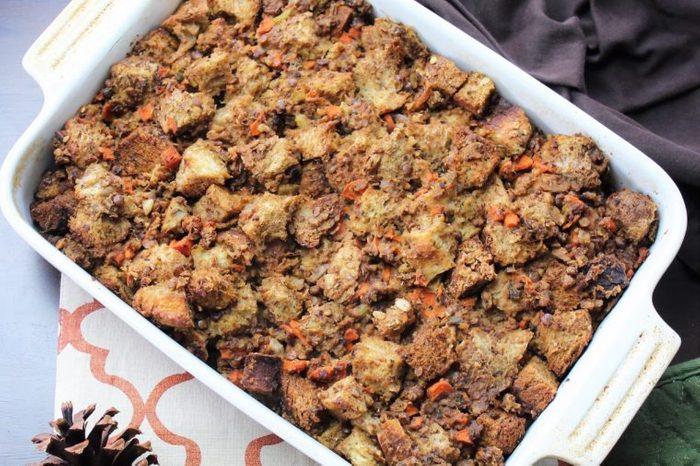 lentil stuffing
