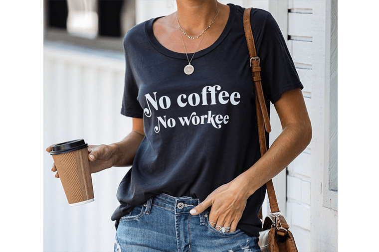 nocoffee-no-workee-cotton-tee-vicicollection