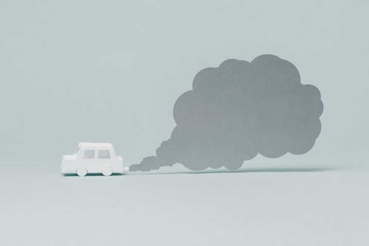 car emissions lung cancer causes