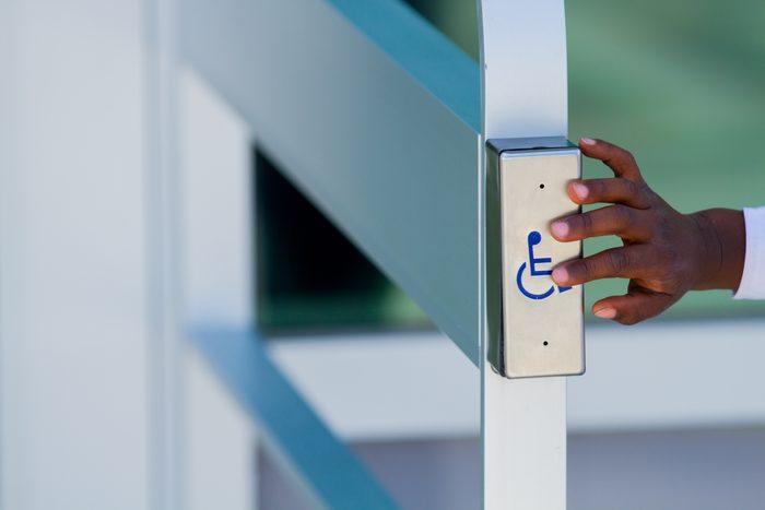disability woman diverse handicap sign