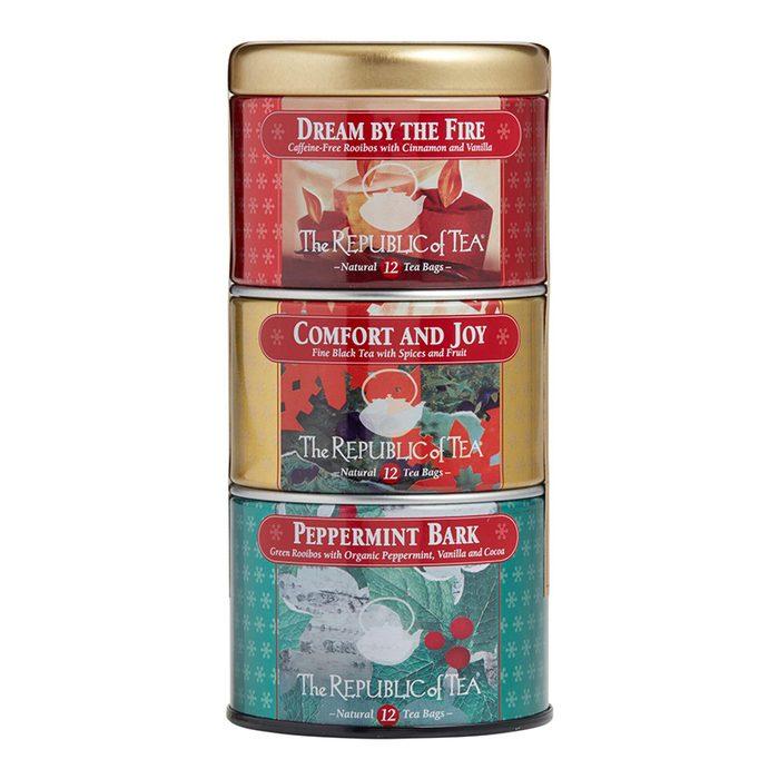 the republic of tea holiday tin set