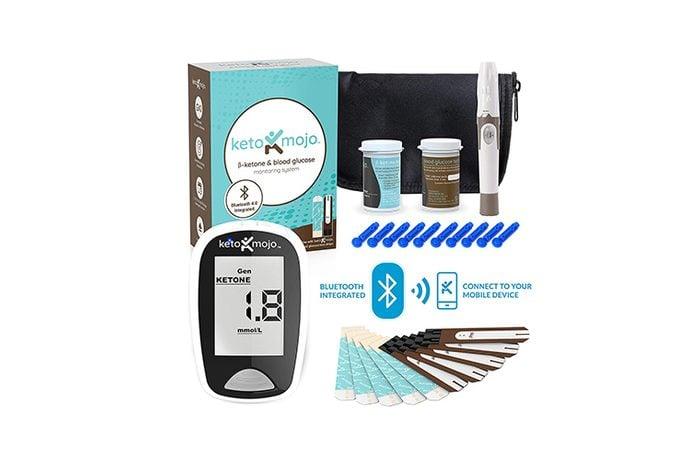 KETO-MOJO Bluetooth Blood Ketone and Glucose Testing Kit