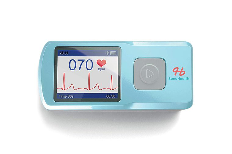 SonoHealth Portable EKG Heart Rate Monitor