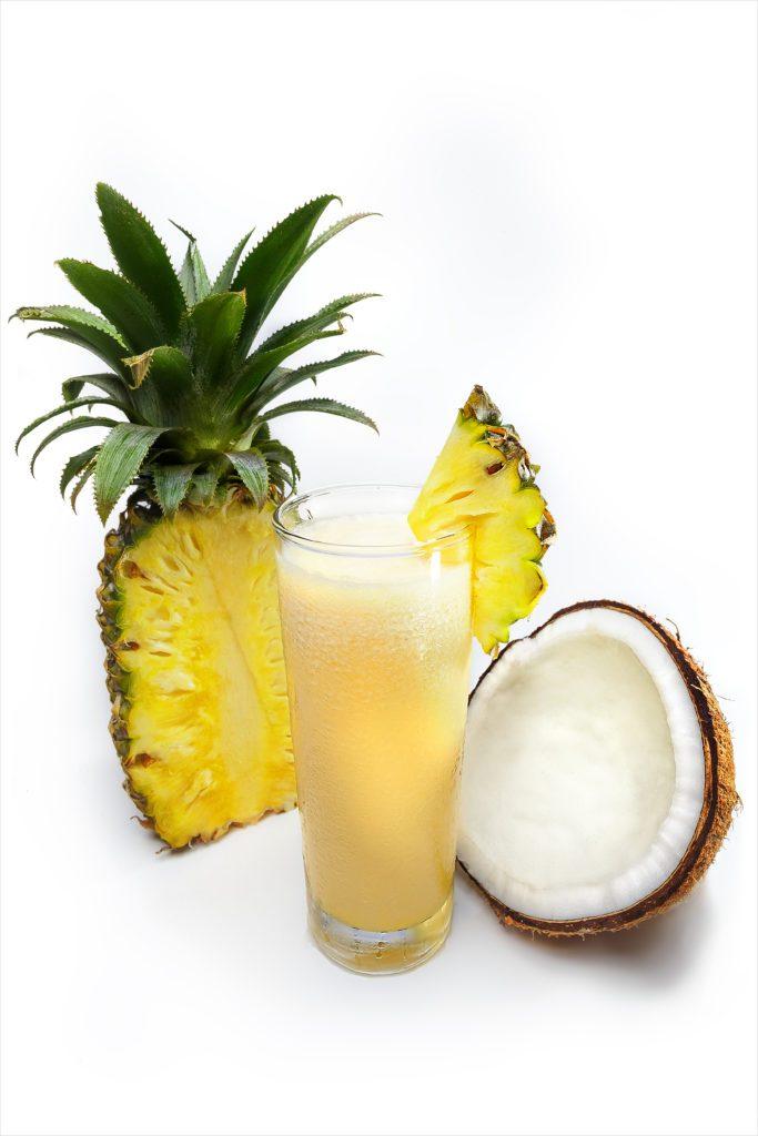 pina colada coconut pineapple