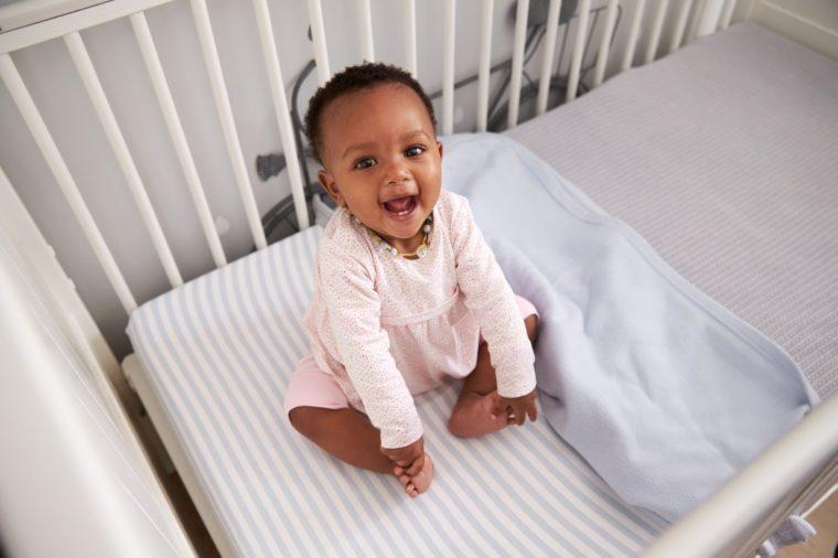 black baby African American child newborn
