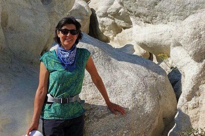 laurie maxson hiking CBD and arthritis benefits