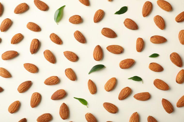 almonds fiber period foods