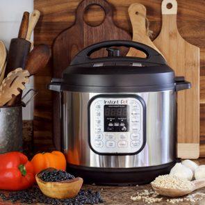 instant pot in kitchen