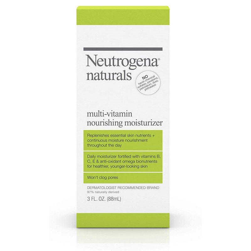 Neutrogena naturals multi-vitamin nourishing daily facial moisturizer