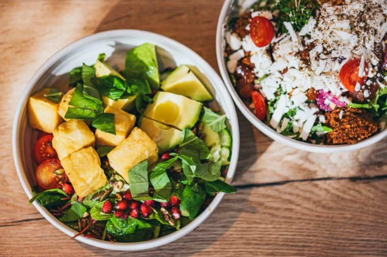 gluten free lunch salads