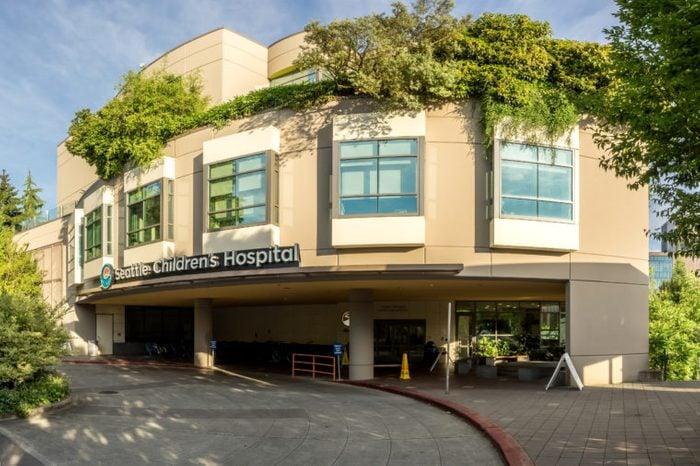 Seattle children's hospital entrance