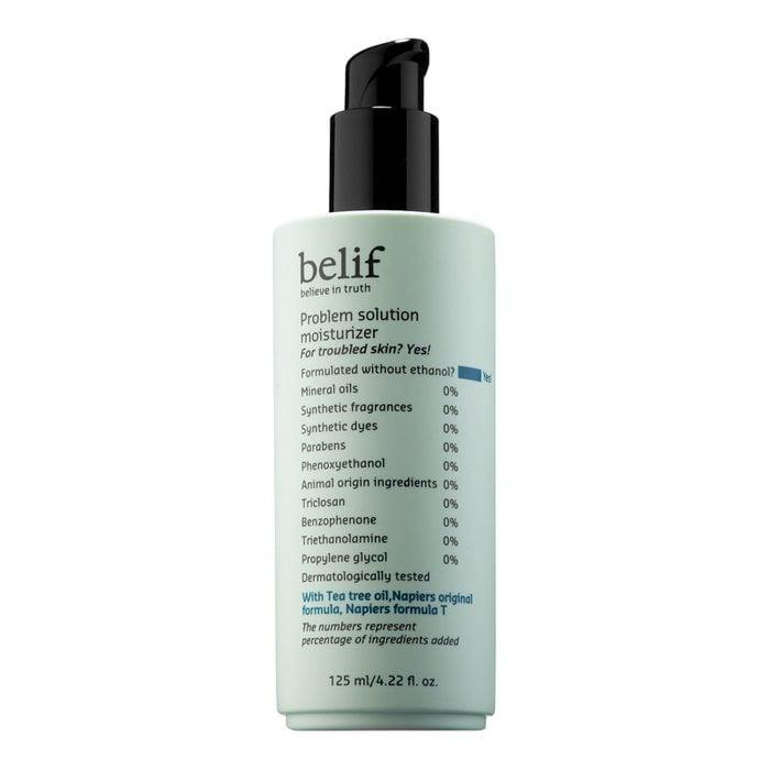 belief solution moisturizer