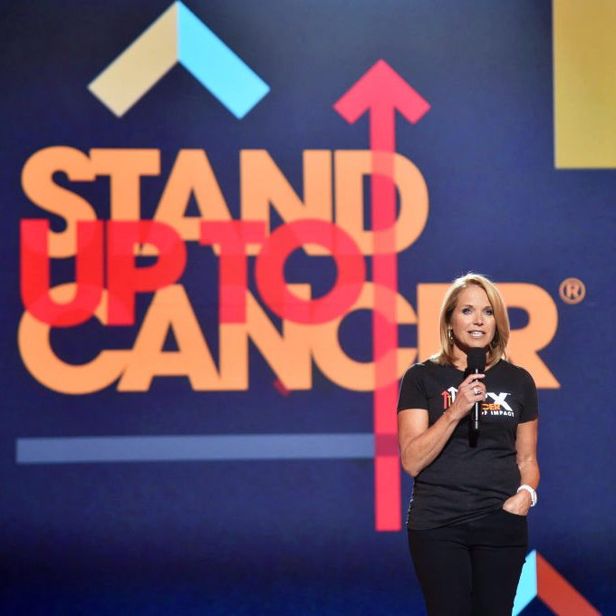 Katie Couric's Non-Profit, Stand Up To Cancer, Saves Millions of Lives