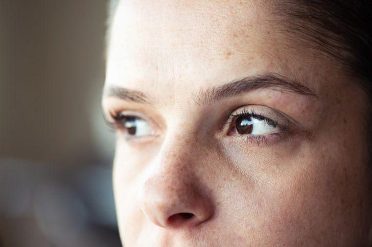 close up of eyes, eye health concept