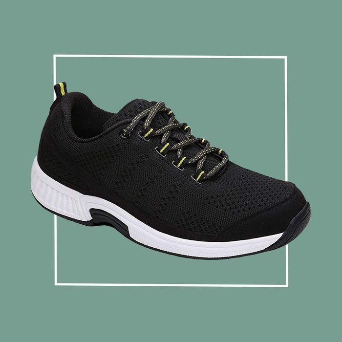 orthofeet walking sneaker