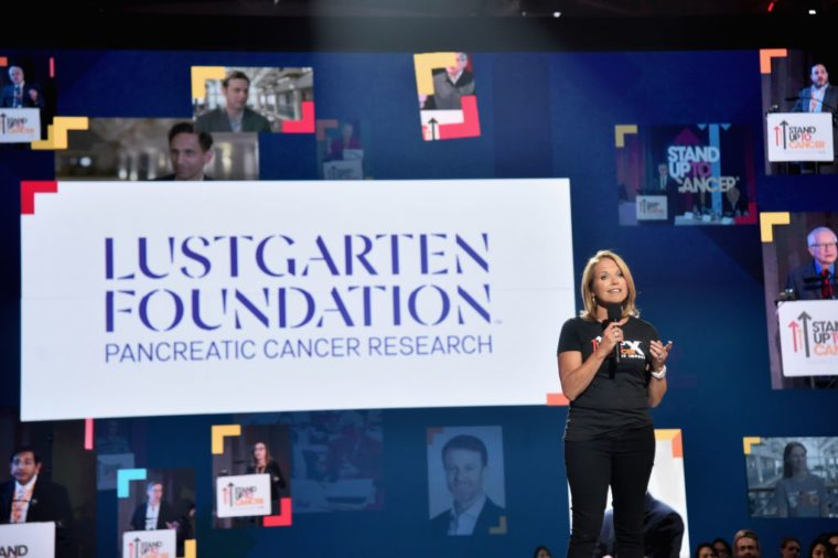 katie couric stand up to cancer