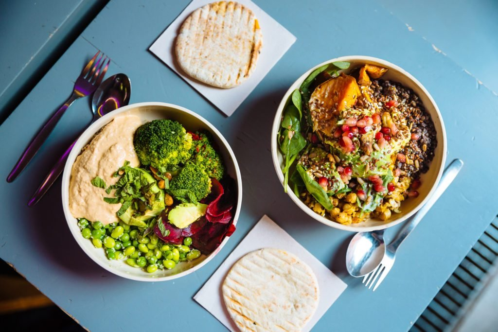 vegan healthy bowls
