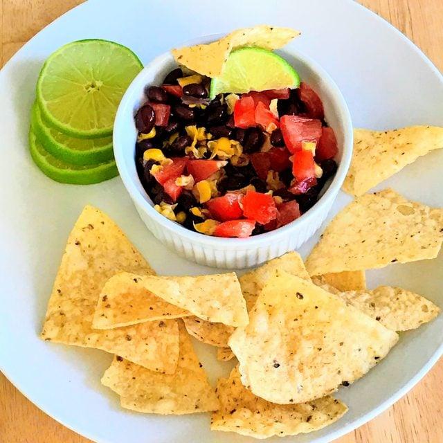 zesty southwest salsa dip