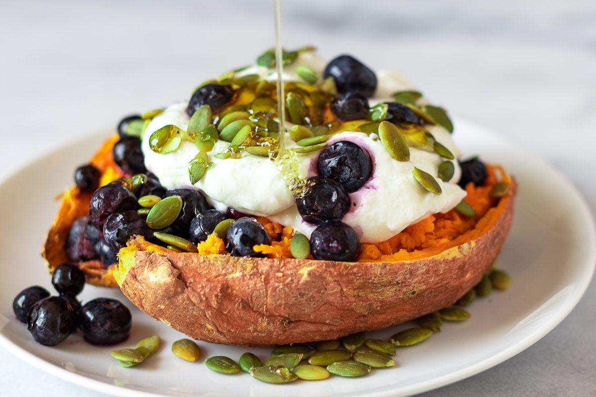breakfast sweet potato