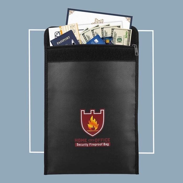 fireproof security bag