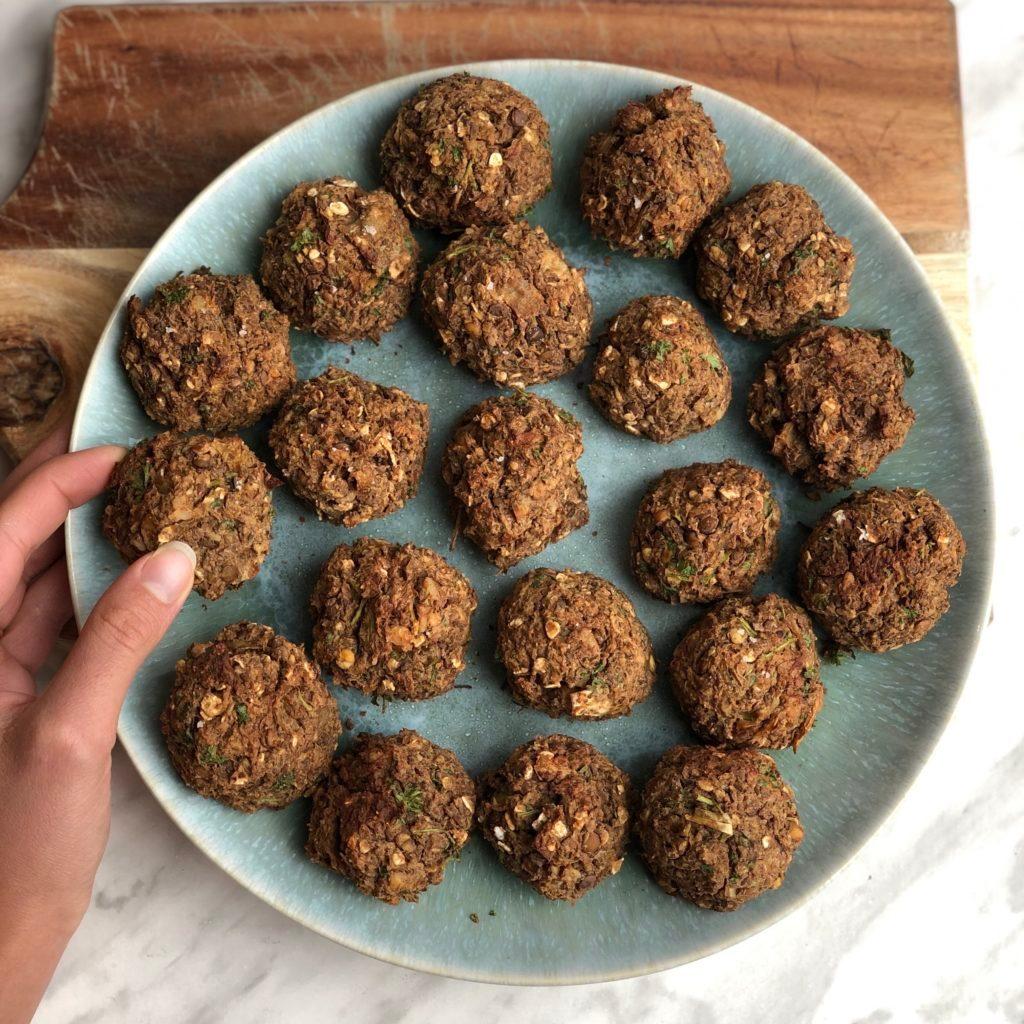lentil balls recipe